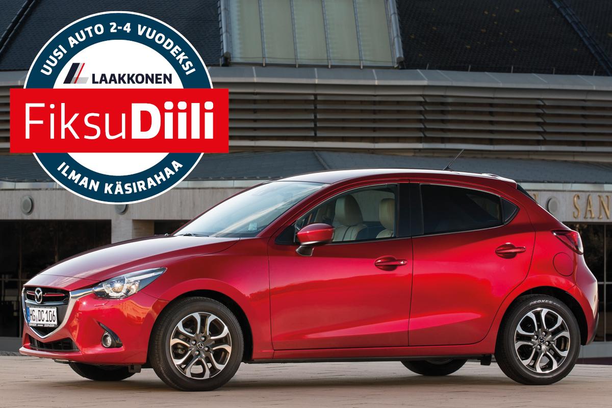 Hyödynnä romutuspalkkio ja hanki uusi Mazda2 hintaan 15.136 €   Laakkonen